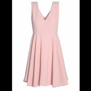 Sandro blush pink mini dress. NWT